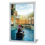 Econoco LED3624 Ultra-Thin Snap-Frame LED Lightbox