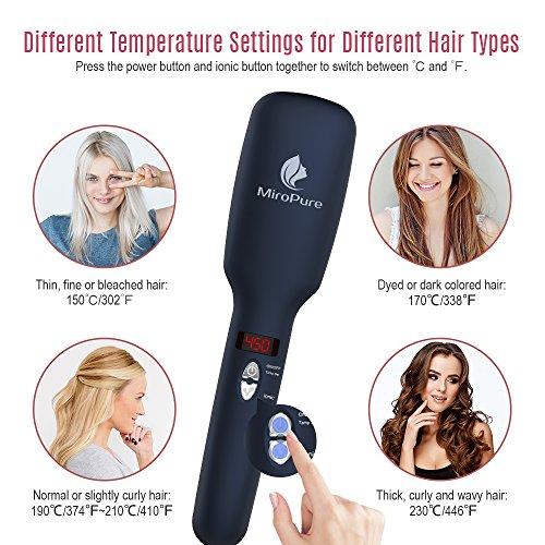 Buy hair straightening brush for curly hair