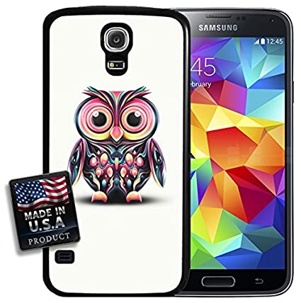 Amazon.com: linfengTrippy Owl Colorful Hippy Acid Retro ...