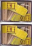 2 Boxes of Mini Scotland Lion Toothpick