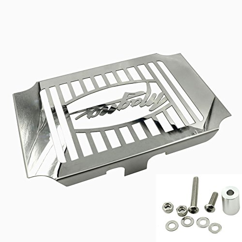 MotoParty Radiator Guard Cover Stainless Steel For Honda Magna VF750 VF 750 1994-2003 (Cover Radiator Magna)