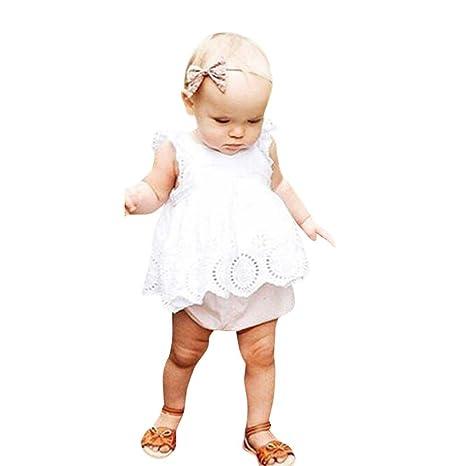 UOMOGO® Neonata Bambine Vestito Pizzo Hollow Uncinetto Principessa Abito  0-24 Mesi  Amazon.it  Abbigliamento 5ca2530bb35