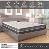 Komfortland Colchón 90x190 viscosoft Reversible Memory Soft de Altura 23cm, 6cm de…