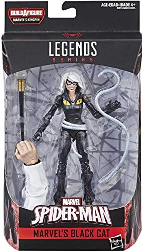 collector Avengers Legends Series - Black CAT - Build A Figure, Marvel's Kingpin (1), Action Figure, Approx 6