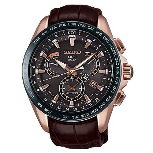 Seiko Mens ASTRON GPS Limited Edition Solar Watch, SSE060