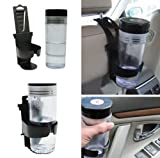 {Factory Direct Sale} Universal Flexible Black Drink Bottle Cup Clip-on Mount Holder Support Bracket Stand For Car Vehicle Truck Aut