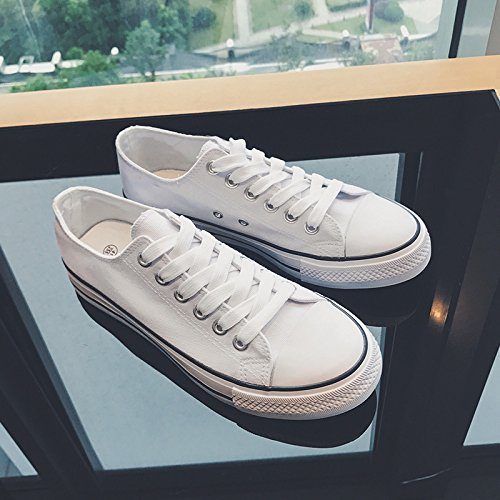 Sneakers Classic Shoes Hasag Canvas Low Sports Shoes Shoes white Casual Breathable UqPdR