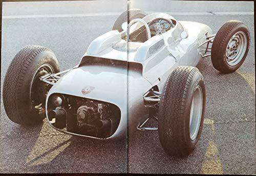 (Magazine Print Article: 1962 Porsche Formula 1, 8 cylinder, Porsche Museum Collection,