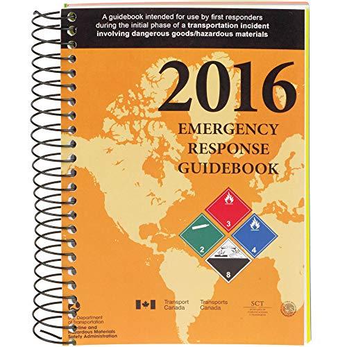 2016 Emergency Response Guidebook (ERG): Spiral Bound