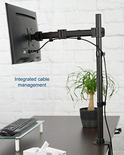 Vivo Single Monitor Desk Mount Extra Tall Fully Adjustable