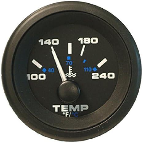 Sierra 62729P Water Temperature - Black Premier Pro 2