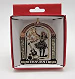 Hawaii Hula Dancer Brass Christmas ORNAMENT