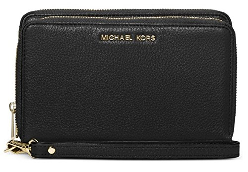 MICHAEL Michael Kors Adele Large Smartphone Wristlet (Black)