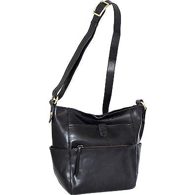 7931d0f5c52 Nino Bossi Patsy Crossbody (Black): Handbags: Amazon.com