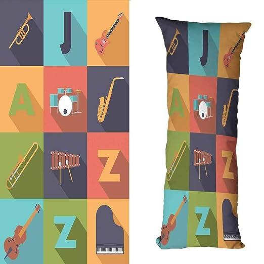 DuckBaby Funda de Almohada para decoración de música, Agua ...