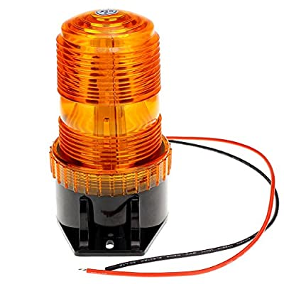 Encell LED Emergency Warning Light Bright Waterproof Car Truck Strobe Light: Automotive