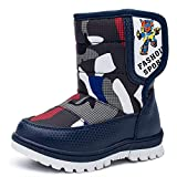 Best Disney Mens Snow Boots - zgshnfgk Boys & Girls Snow Boots Winter Waterproof Review