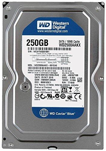 250 GB 3 1/2″ Desktop SATA 6 Gb/s Harde Drive 7200 RPM
