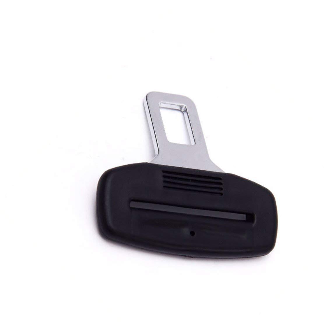 LouiseEvel215 Parti di Automobili di Sicurezza Plastica di Sicurezza per Auto Cintura di Sicurezza Fermo Spaziatura Fibbia Fermo Pulsante di Arresto della Cintura di Sicurezza