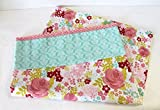 Toddler Pillowcase Floral With Crocheted Edge