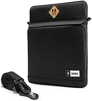 """10.5/"""" New iPad Air 7.9/"""" iPad Mini 2019 tomtoc 360/° Protection Tablet Shoulder Bag Designed for 12.9 inch New iPad Pro 2018 with Handle /& Organized Pocket for iPad Charger Cable 11/"""" iPad Pro"""