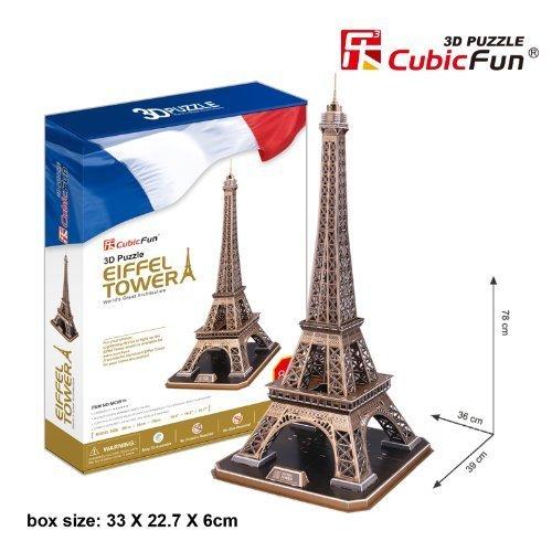 Todos los productos obtienen hasta un 34% de descuento. CubicFun 3D 3D 3D Puzzle  The Eiffel Tower - Paris  by CubicFun  la mejor selección de