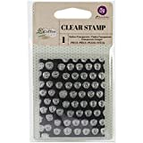 """Prima Marketing 655350575793 No.2 Coffee Break Stamps, 2.5"""" by 3"""", Clear"""