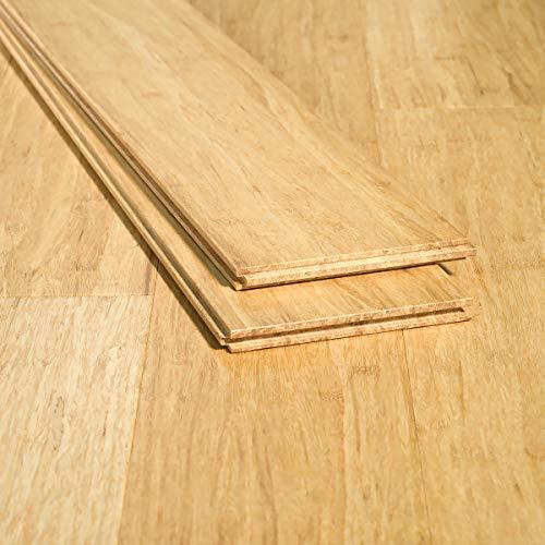 Ambient Bamboo Bamboo Flooring Sample Color Natural