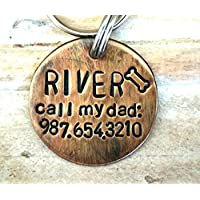 Dog Tags for Dogs - call my dad