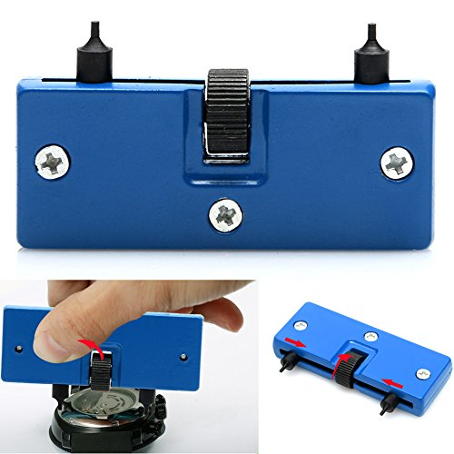 Smart-Uni Watch Adjustable Rectangle Opener Back Case Cover Remover Wrench