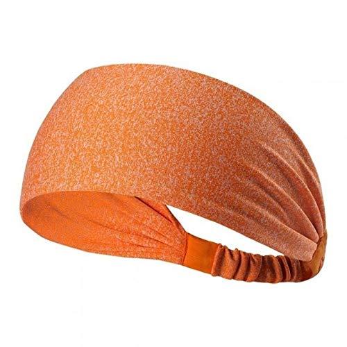 HATCHMATIC Radfahren Yoga Ort Sweat Stirnband Mnner Schweißband fr Mnner und Frauen Yoga-Haar-Bnder Kopf Schweißbnder Ort Sicherheit: orange, China