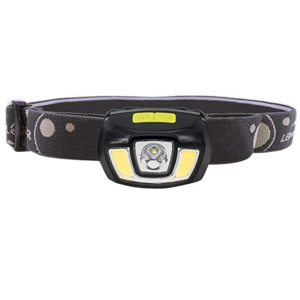 YXZN LED Scheinwerfer USB Ladegerät Dimmbare Wasserdichte Kopf Taschenlampe