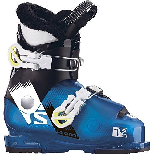 Salomon Team 2 RT Kids Ski Boots - 18.0/Indigo Blue (Salomon Kids Ski Boots)