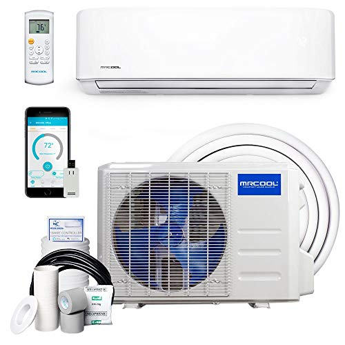 MRCOOL – DIY-36-HP-230B25 DIY 36k BTU 16 SEER Ductless Heat Pump Split System 3rd Generation – 230v