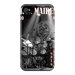 MansourMurray Iphone 4/4s Shockproof Hard Phone Case Custom Nice Iron Maiden Band Pattern [vie16118kBqt]