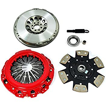 EFT STAGE 3 CLUTCH KIT & LIGHTEN FLYWHEEL SET FITS G35 350Z 3.5L VQ35DE 6CYL