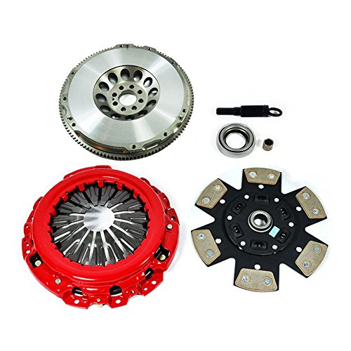 (EFT STAGE 3 CLUTCH KIT & LIGHTEN FLYWHEEL SET FITS G35 350Z 3.5L VQ35DE 6CYL)
