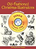Old-Fashioned Christmas Illustrations (Dover Electronic Clip Art) (CD-ROM and Book)