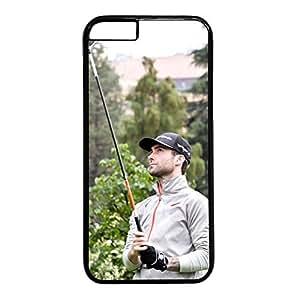 iCustomonline Adam Levine Black Plastic Hard Back Shell for iPhone 6 (4.7 inch)
