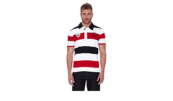 Clk Polo City Rojo/Marino/Blanco S: Amazon.es: Ropa y accesorios