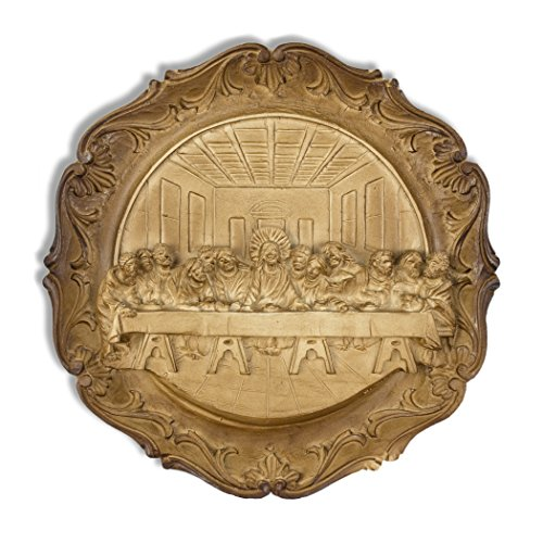 Last Supper Resin Wall Plate (9 Inch) ()