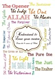 99 names of love - Understand and love your creator - Learn the 99 names of Allah