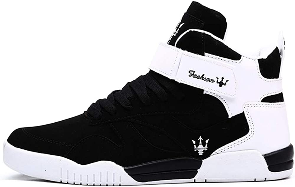 Amazon.com | KUXIE Shoes Men's High Top