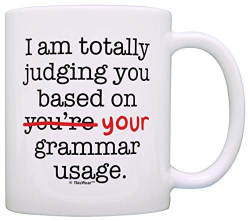 Funny Grammar Judging Based Coffee