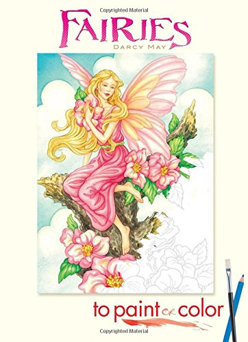 Fairies to Paint or Color (Dover Art Coloring Book) (Coloring Book Paint compare prices)