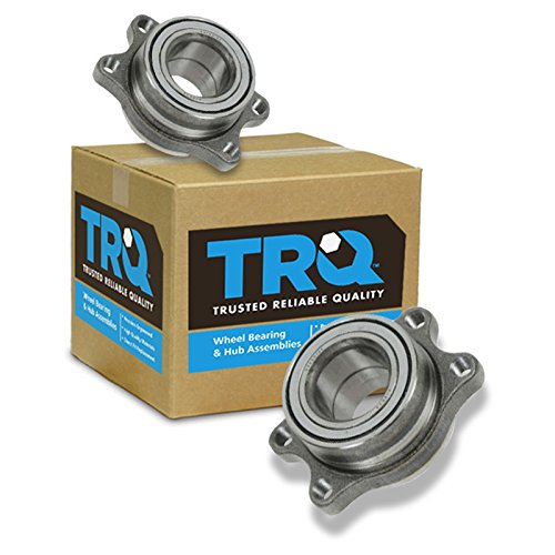 TRQ Wheel Bearing Module Rear Left & Right Pair Set for Nissan 240SX 300ZX