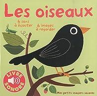 6 images à regarder, 6 sons à écouter : Les oiseaux par Marion Billet