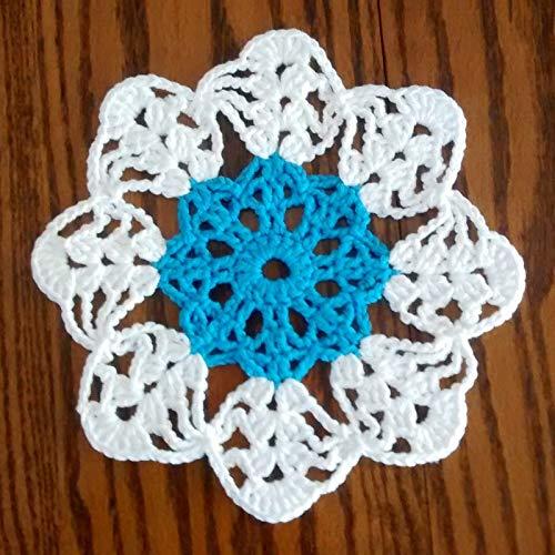 Amazon Round Crochet Coaster Crochet Doily Handmade Place Mat