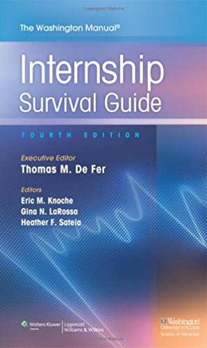 The Washington Manual Internship Survival Guide, 4th Edition