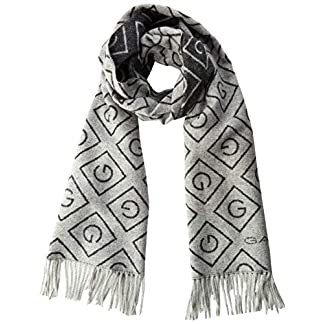 GANT Damen D1. G Wool Scarf Schal, Grau (Light Grey Melange 94), (Herstellergröße: One Size) 7